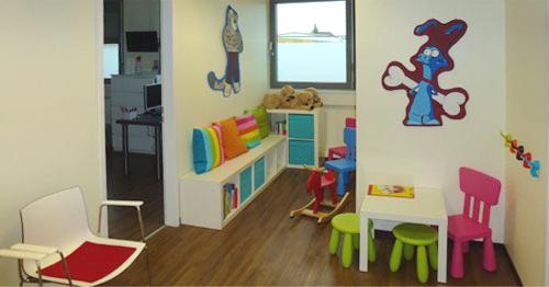 Kinderspielecke für die Kinderorthopädie-Sprechstunden von Dr. Demmelmeyer